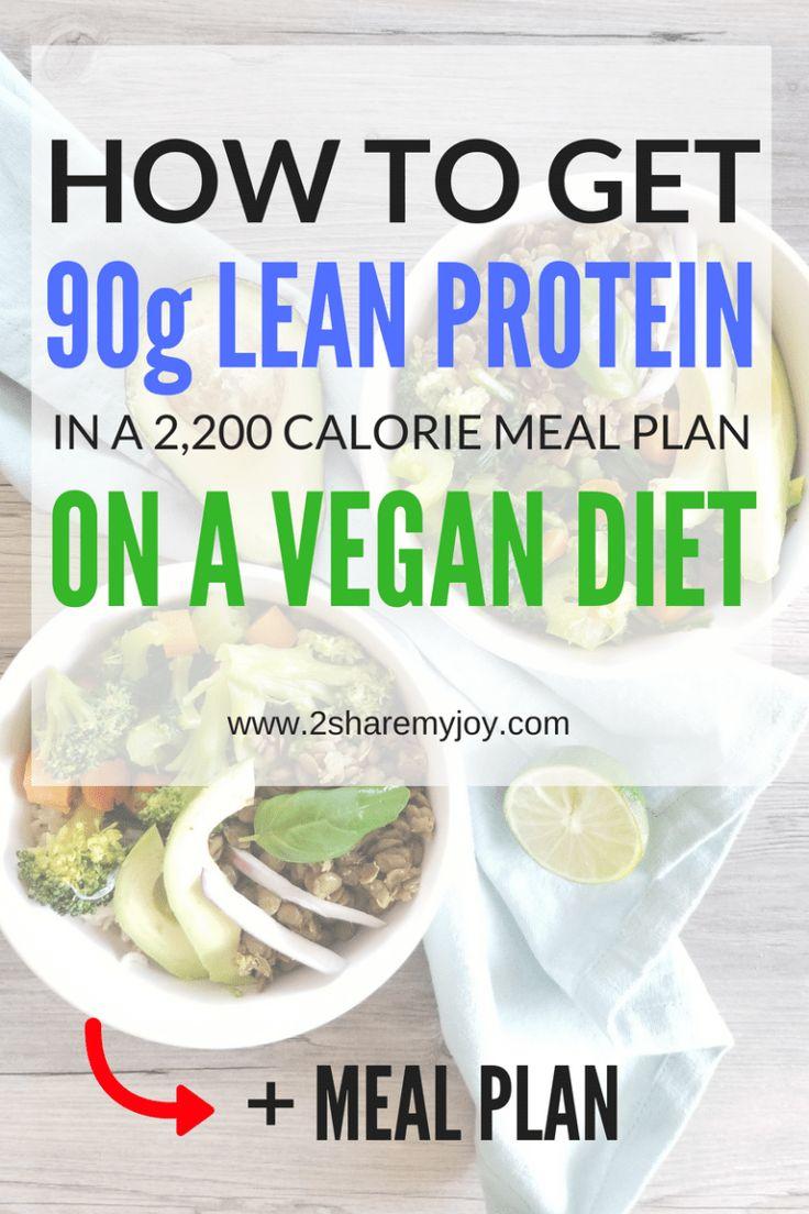 lean protein vegan diet