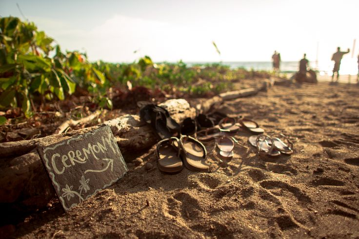 wedding on the beach - Costa Rica