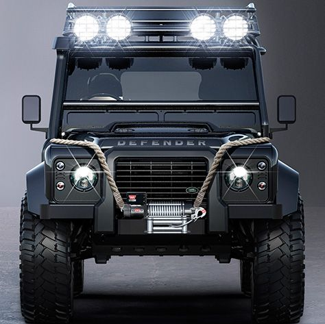 Jaguar And Land Rover Reveal Their Rides For James Bond Movie Spectre لندروفر Pinterest Defender Cars