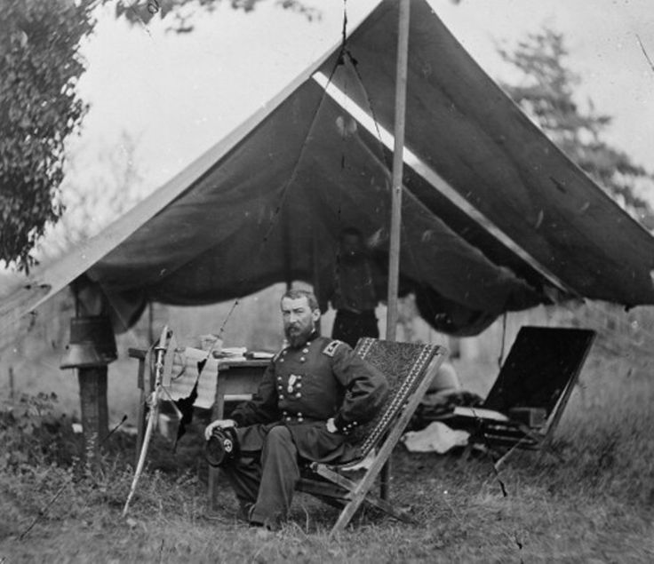 """General Philip Sheridan's troops dealt a major blow to Robert E. Lee's Confederate army on April 6, capturing nearly  a quarter of his men. At Appomattox  Court House on April 9, 1865, Sheridan blocked Lee's escape. General Ulysses Grant wrote of Sheridan  that he """"has no superior as a general, either living or dead, and perhaps not an equal""""."""