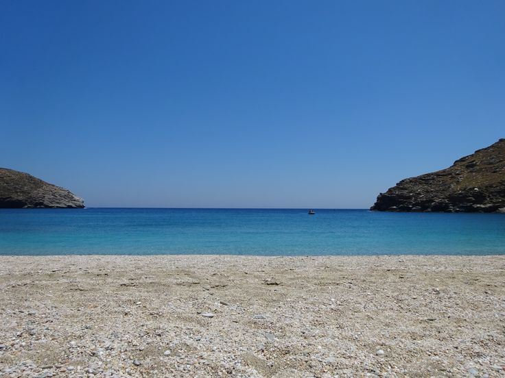 The cloudless summer days (Andros)