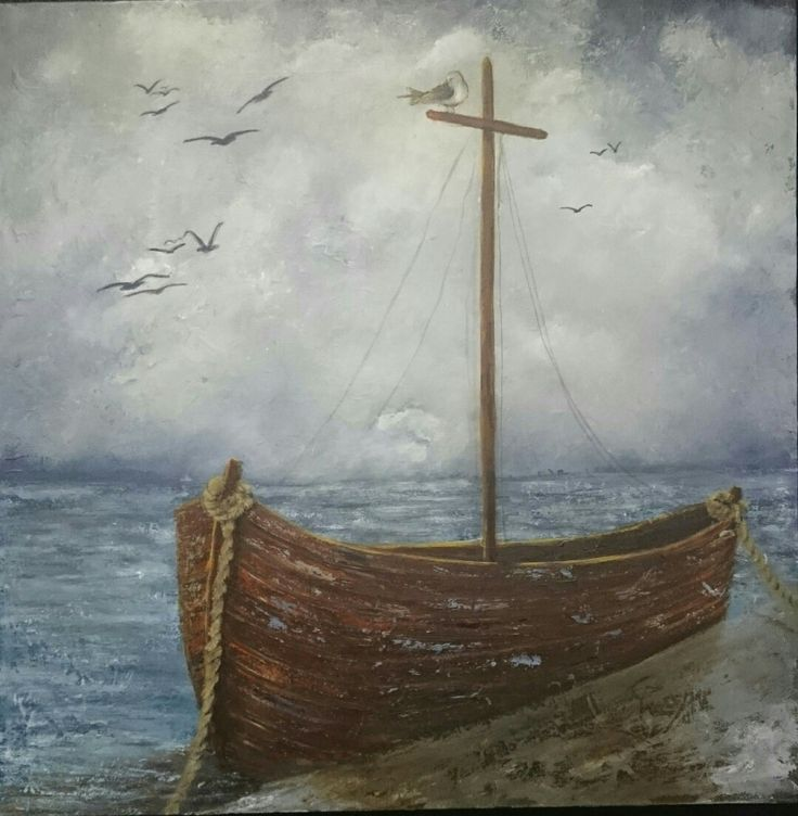 Safe harbour - Painting by Herma Kitching