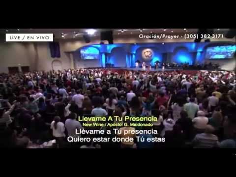 New Wine Llevame A Tu Presencia -Worship El Rey Jesús Miami Florida