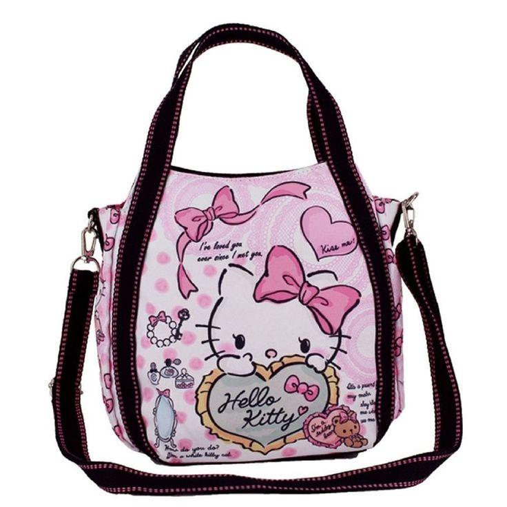 Hello Kitty 2way mini shoulder bag lunch tote bag Sanrio Free Shipping 1 #Sanrio