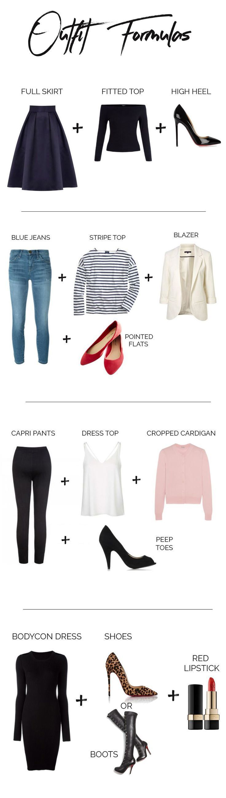 The Four Outfit Formulas I Swear By