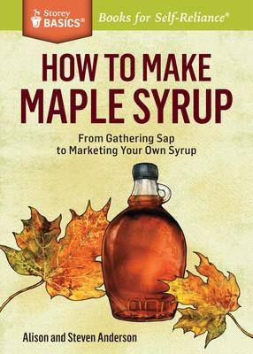 From managing a sugar bush to slathering your pancakes, this Storey BASICS® guide covers everything you need to know to make and enjoy your own maple syrup. Third-generation syrup makers Alison and Steven Anderson show you how to collect sap using a tree-friendly tubing system and then cook, package, and even market your own syrup. With expert advice for first-time bottlers, the Andersons share their passion with a contagious excitement that is as inspiring as a bowl of sugar on snow.