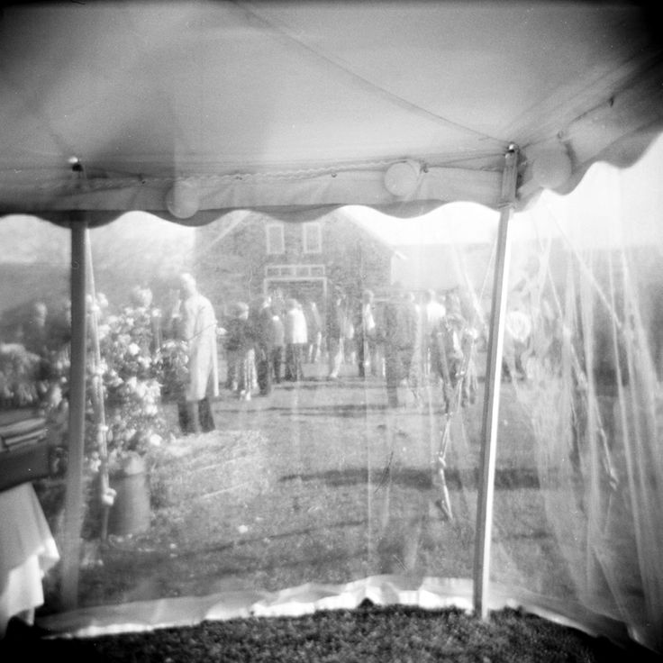 Farm wedding.
