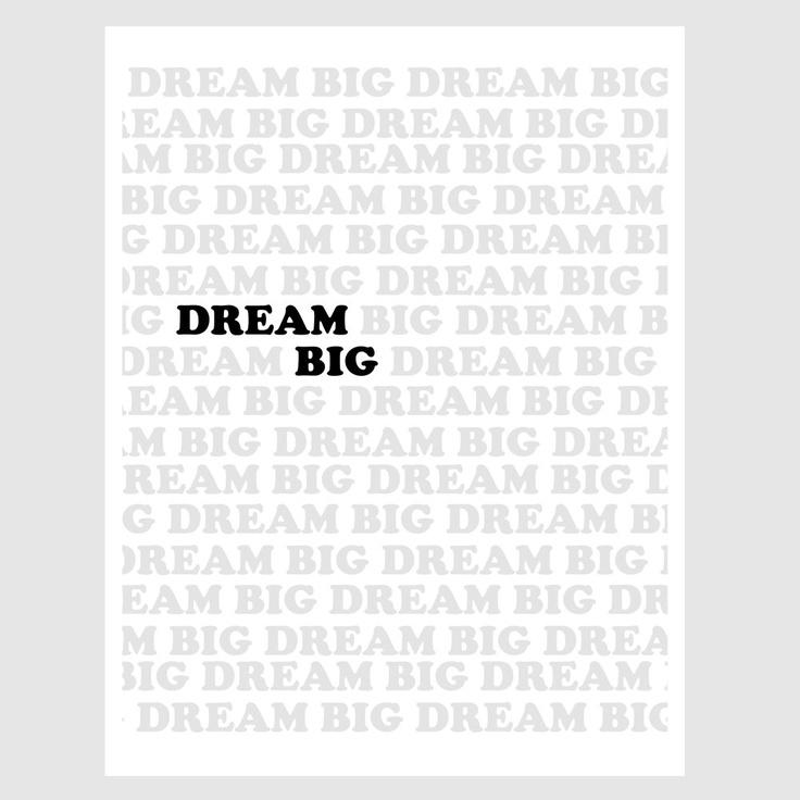 dream big. etsy. $14: Dreams Big Quotes, Paper Prints, Midnight Black, Dreams Catcher, Dream Big Quotes, 14 00, Quotes Paper, Newspaper Headlines, Headlines Dreams