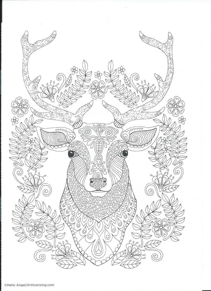 767 besten Coloring pages to print - Animals Bilder auf Pinterest ...