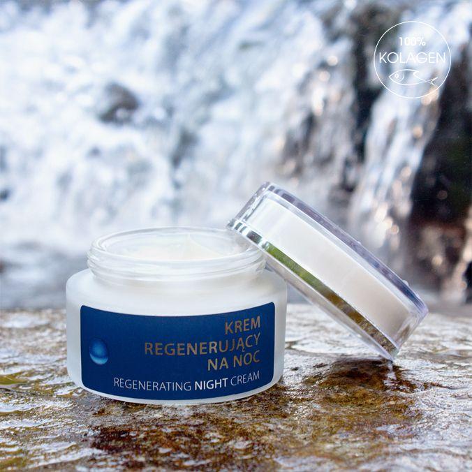 Krem regenerujący na noc. 100% naturalnego kolagenu dla Twojego zdrowia i urody. Zobacz więcej na: http://sklep.icolway.eu/pl/23-krem-regenerujacy-na-noc.html