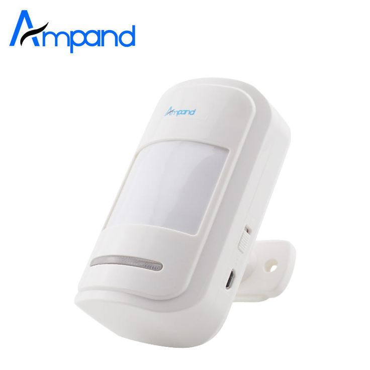 Wireless Motion PIR IR Sensor Passive Infrared Detector 433MHz For Alarm system 1pcs Free Shipping