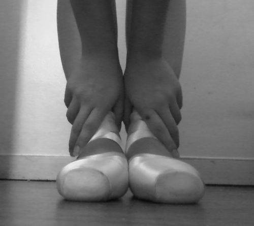 There is just something about pointe shoes I will always love! Still have mine after several years. <3