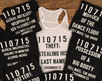Ends At 12am Custom Bridesmaid Shirt Bachelorette Tanks Gifts Movie Shirts Funny