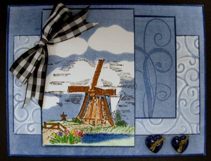 Stampin Up Netherlands-WINDSTORM. Click on link for description of how it was…