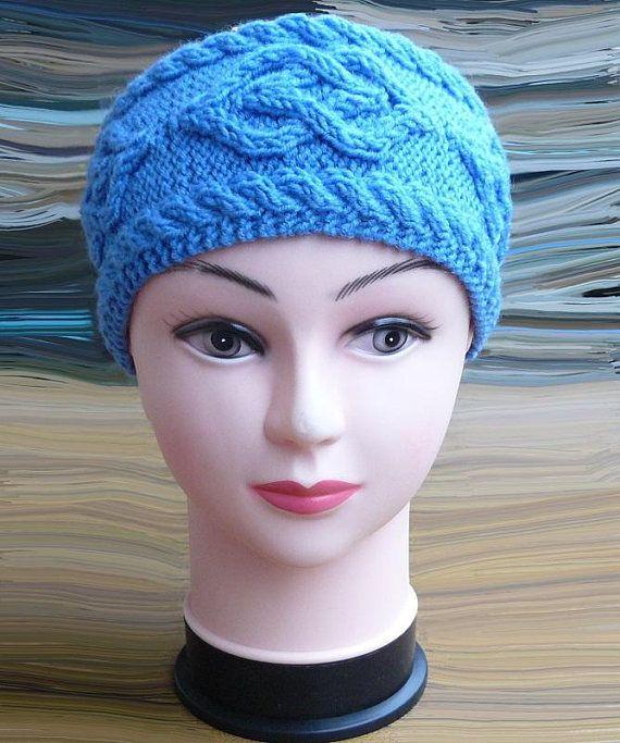 Womens headband Ear warmers headband Knitted headband Cable