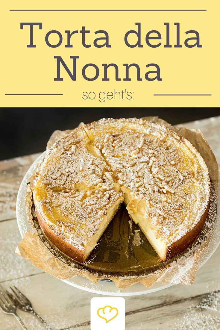 Torta della Nonna - den italienisches Kuchentraum könnt ihr jetzt auch genießen, wenn ihr keine Oma mit italienischen Wurzeln habt! - Wir verraten das Rezept!