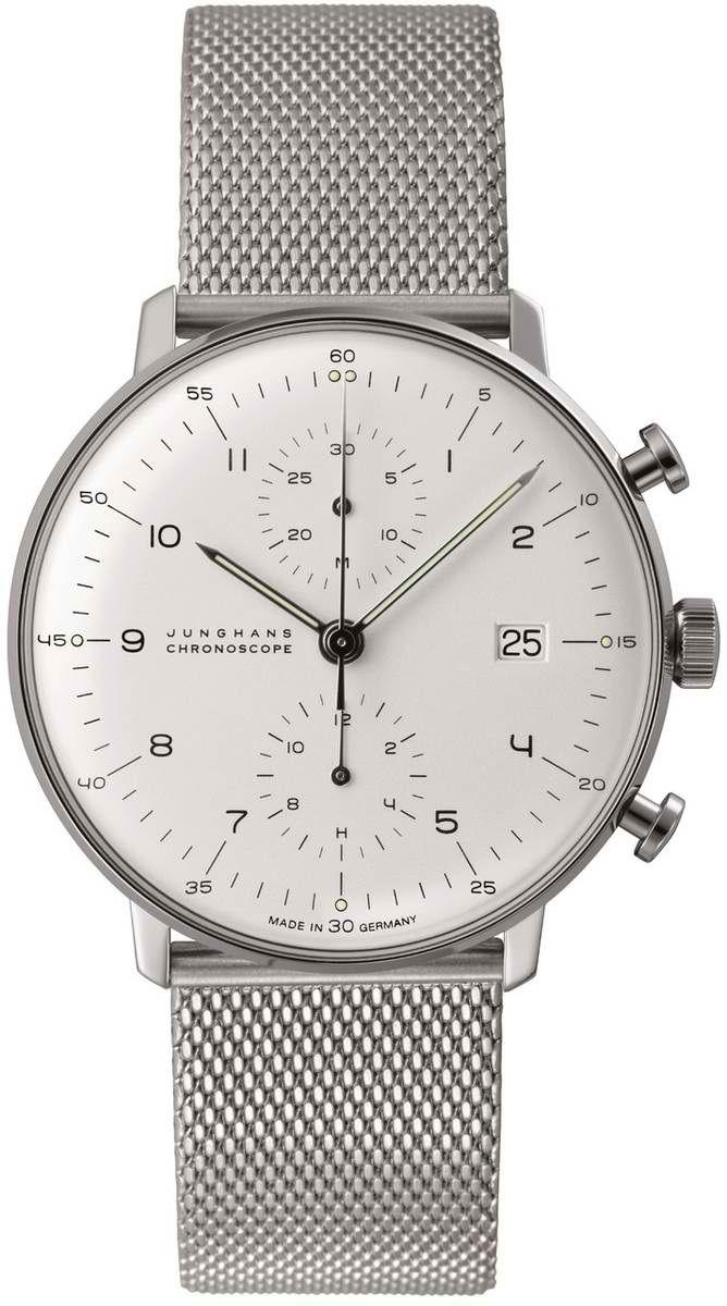 Max Bill Chronoscope Wrist Watch MB-4003.44 visit shopbalthazar.com