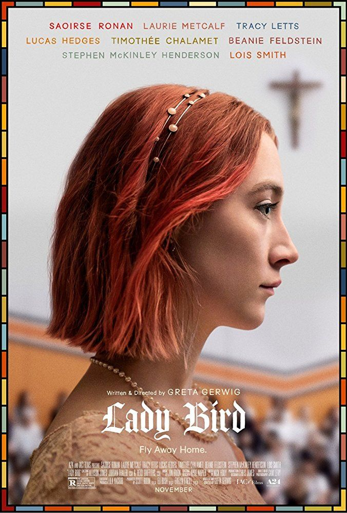 Lady Bird (2017). A girl in her senior year of high school in Sacramento, falls in love with boys, dreams of going to college on the East Coast, tries out for theater, hangs out with the cool kids while leaving behind her best friend, and fights with her mother.  It's about life. Stars Saoirse Ronan and Laurie Metcalf.