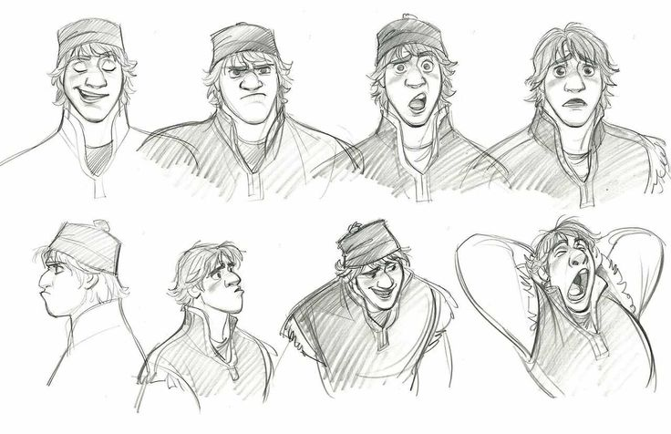 Kristoff by Jin Kim | Sketches and Concept Art | Pinterest