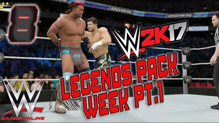 WWE 2K17 ONLINE LEGENDS PACK DLC WEEK PART 1: TATANKA VS EDDIE GUERRERO ...