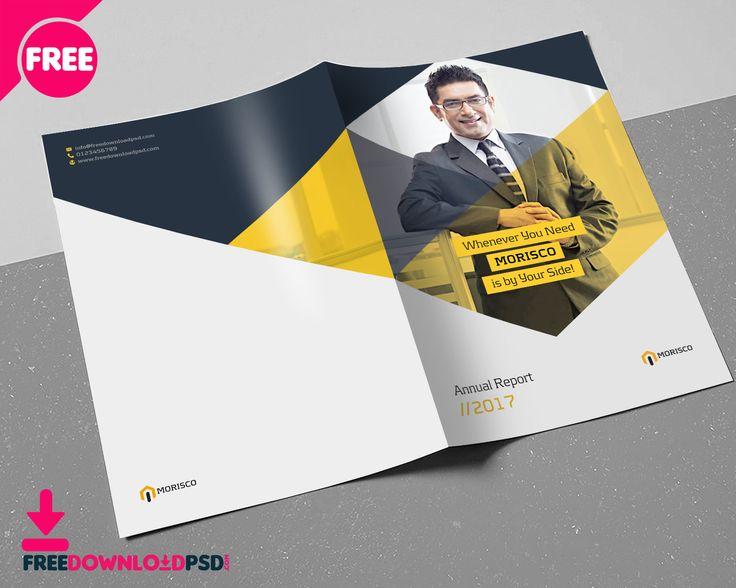 Annual Report Brochure Template #Brochure, #Print #FreeDownloadPSD - free annual report templates