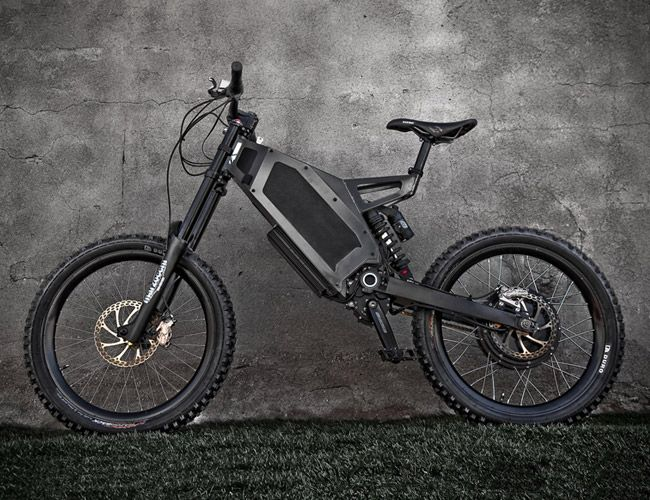 """""""Bomber"""" Electric Bike by Stealth UK"""