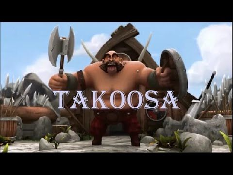 Самый смешной мульт про викинга / ТАКООСА / Короткометражные мультики 2015