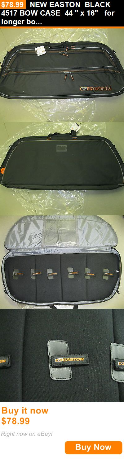 Other Archery 1291: New Easton Black 4517 Bow Case 44 X 16 For Longer Bows 422745/Sl BUY IT NOW ONLY: $78.99