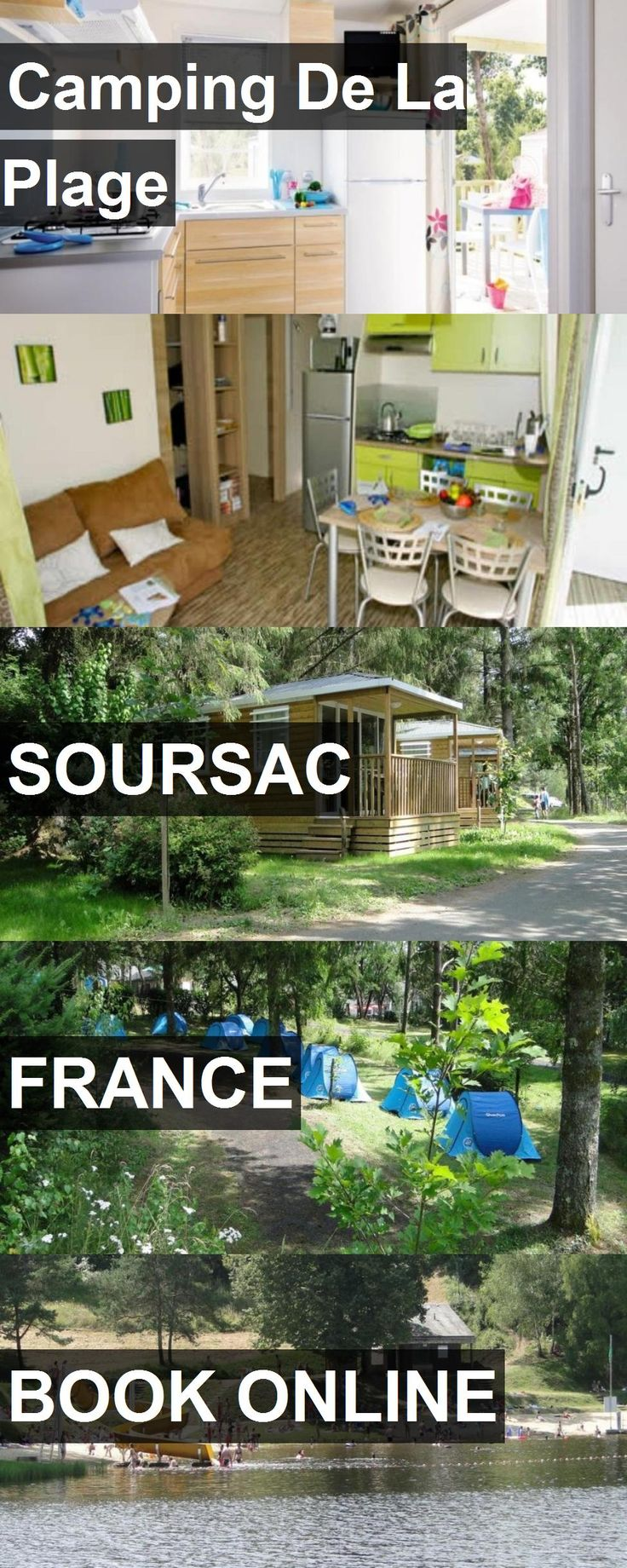 Hotel Camping De La Plage in Soursac, France. For more information, photos, reviews and best prices please follow the link. #France #Soursac #CampingDeLaPlage #hotel #travel #vacation