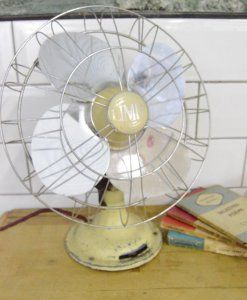 Vintage Industrial Mid Century Limit Fan | lovelitter.co.uk | Warehouse Home Design Magazine