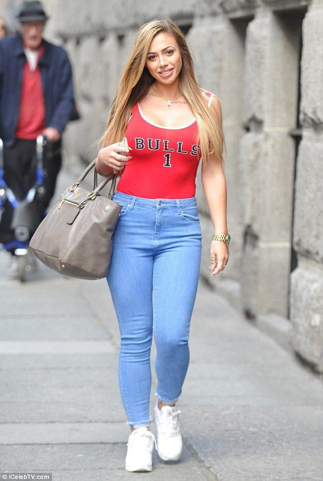 Flaunting her figure: Holly Hagan, who recently shed an impressive three stone, flaunted h...
