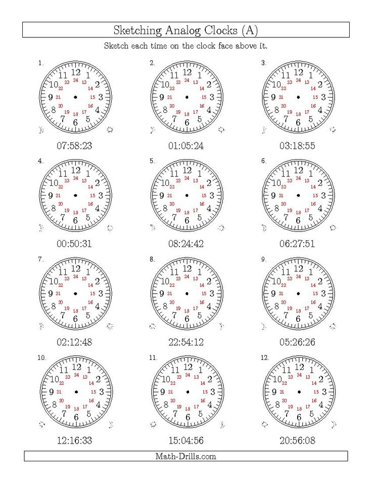 elapsed time worksheets 24 hour