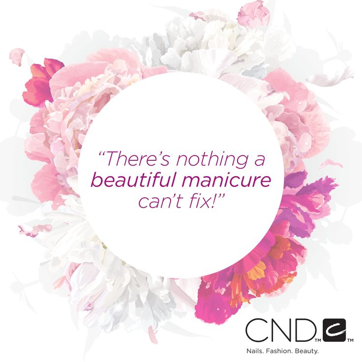 there's nothing a beautiful manicure can't fix. #nailquote #nails #quotes