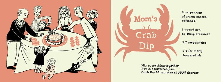 Mom's Crab Dip by Krista Genovese on TDAC