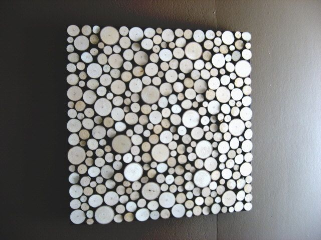Charming Tree Branch Art   Wood Wall
