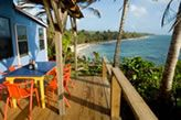 Casa Iguana, Little Corn Island - Nicaragua - Home - Casa Iguana Eco Lodge - 65 - 75 a night, 10% reduction in scuba if you stay three nights.