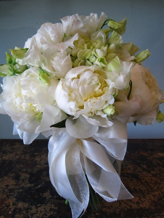peonies sweet pea wedding bouquet bridal floral lisianthus