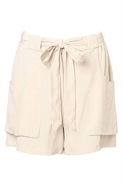 #witcherywishlist  Drape Tie Waist Short