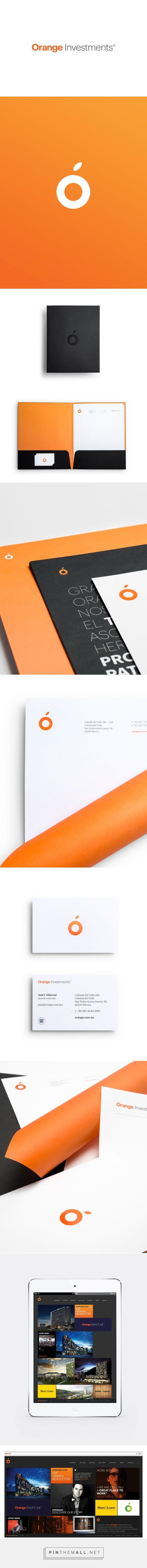 Orange Investments Branding by Face | Fivestar Branding – Design and Branding Agency & Inspiration Gallery