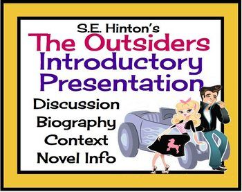 The Outsiders History of the Text