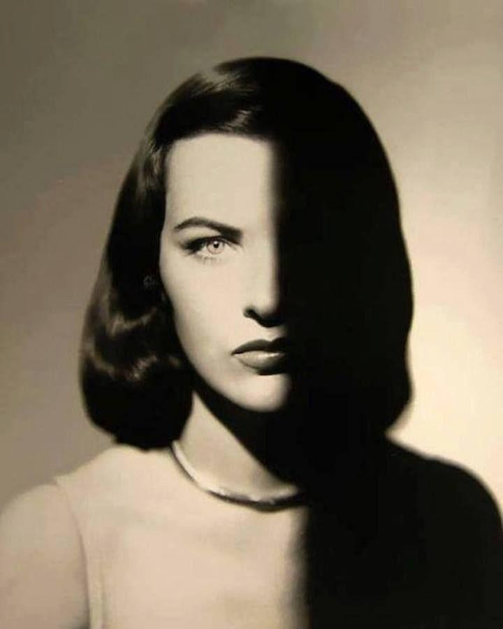 """flashofgod: """"Man Ray, Ella Raines, 1947. """""""