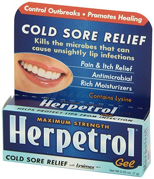 Herpetrol Cold Sore Relief Gel