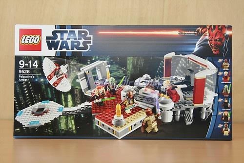 Lego 9526 Star Wars Palpatine's Arrest (MISB / Mint in Sealed Box) with tracking | eBay