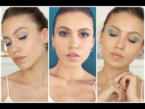 3 Modern Mavi Makyaj - YouTube