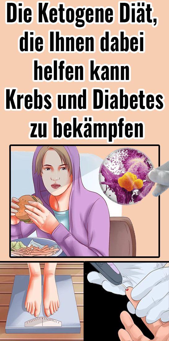 Die Ketogene Diät, die Ihnen dabei helfen kann Krebs und Diabetes zu bekämpfen
