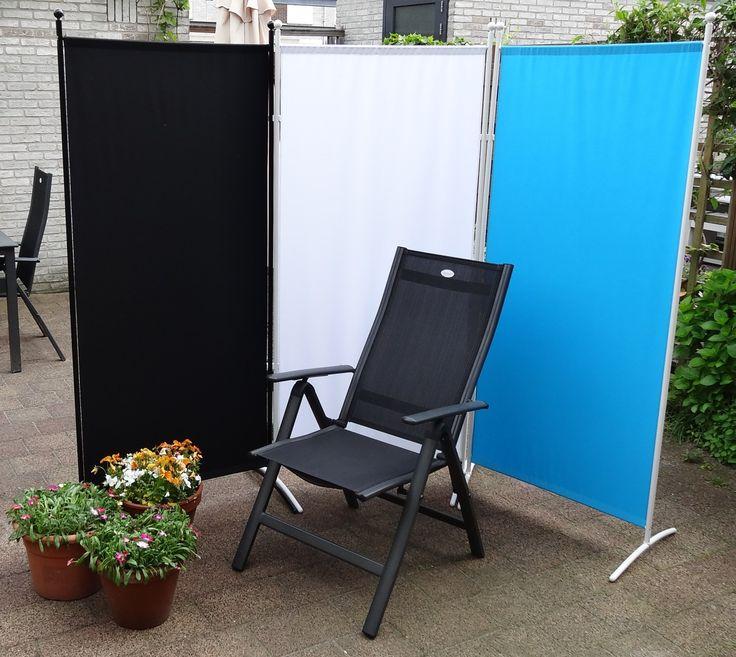 Praktische schermen voor vele doeleinden te gebruiken, zoals bijvoorbeeld  privacy in de tuin of  afscherming van de werkplek. Scheidingswanden zijn optioneel te verbinden met connectoren.