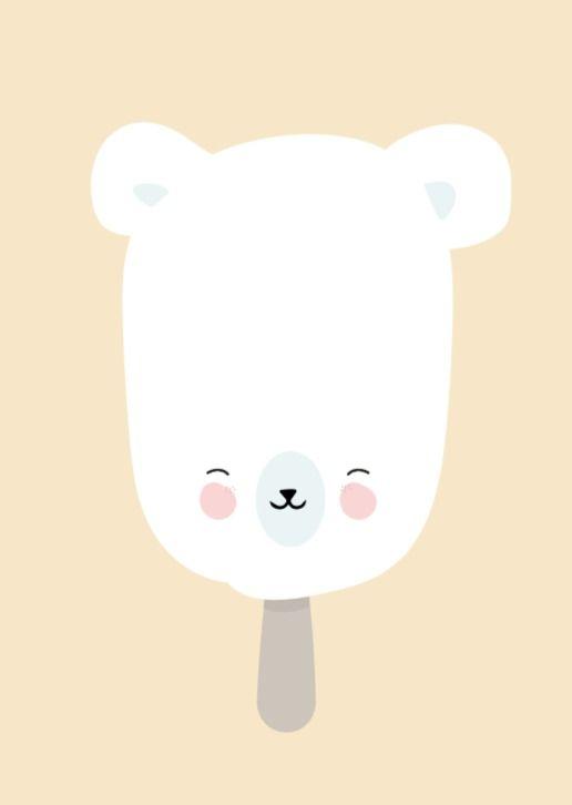 Eef Lillemor 'Kaart Ice Cream Polar'
