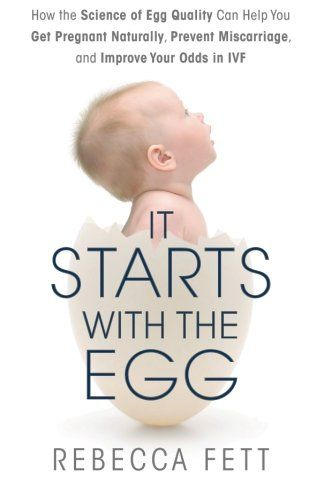 It Starts with the Egg: How the Science of Egg Quality Can Help You Get Pregnant Naturally, Prevent Miscarriage, and Improve Your Odds in IVF by Rebecca Fett http://www.amazon.com/dp/0991126904/ref=cm_sw_r_pi_dp_xkEZub0GRN5G4