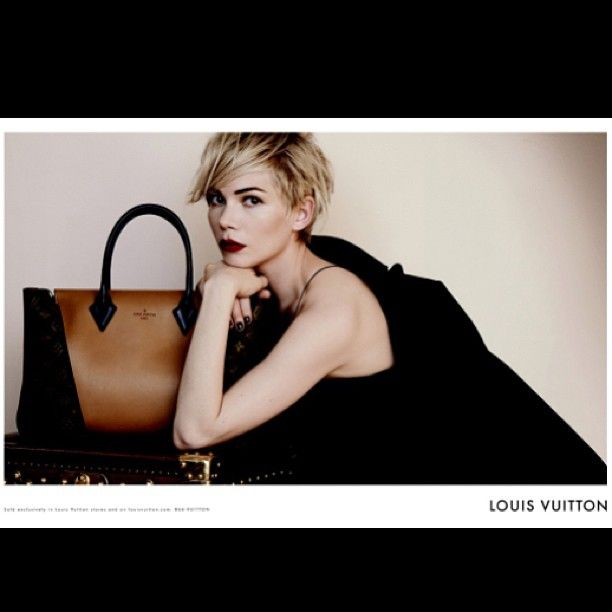 .michelle wiliams for louis vuitton