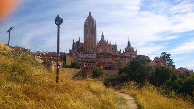 Diferentes Vistas de la Catedral de #Segovia - SF23 Arquitectos